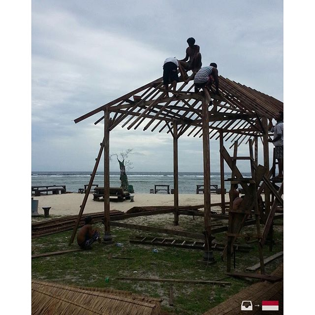 And the work safety in Gili (Indonesia) folks, ta all ok? Photo sent by @ arturxicopiva1 /////// Guys, what do you think about safety in Gili (IndonIndonesiaoto sent by @arturxicopiva1