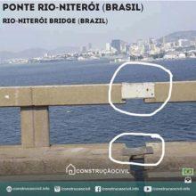 Alguém sabe o que é isso na Ponte Rio-Niterói (Brasil)? Controle de movimentação da ponte? Foto enviada por @rikardo.junior /////// Does anyone know what is this at the Rio-Niterói Bridge (Brazil)? Bridge movement control? Photo sent by @rikardo.junior