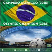 Brasil: Campeão Olímpico de Futebol em 2016! ️ ////// Brazil: 2016 Soccer Olympic Champion! ️