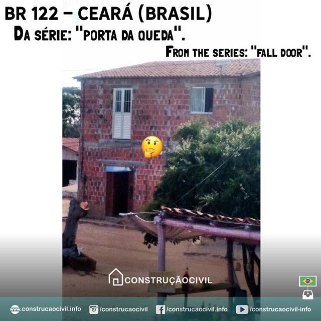 Portela (mistura de porta com janela). Localização: BR 122, Ceará (Brasil). Foto enviada por @andre_barreira_ ////// Doordow (a door and window mix). Location: BR 122, Ceará (Brazil). Photo sent by @andre_barreira_